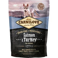 Carnilove Laks & kalkun – Salmon & Turkey for puppy, 12 kg