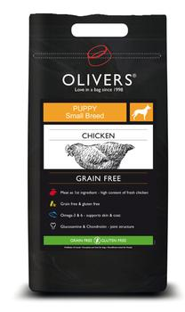 OLIVERS START - PUPPY SMALL/MEDIUM GRAIN FREE - 12 kg