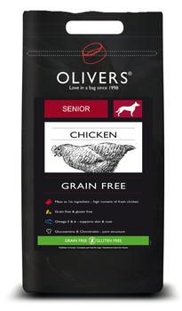 OLIVERS SENIOR GRAIN FREE - 12 kg