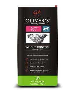OLIVERS WEIGHT CONTROL GRAIN FREE, MEDIUM - 4 kg