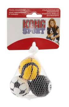 Kong Sports Balls, 3 stk. i net