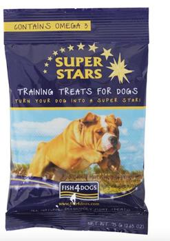 Fish4Dogs Super star Training Treats - 75 g