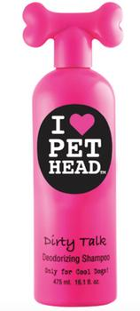 Lugt neutraliserende shampoo - Pet Head Dirty Talk 475 ml