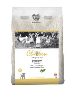 3 kg Kingsmoor Pure Dog Chicken puppy - PURE HVALP Kingsmoor hundefoder - små racer