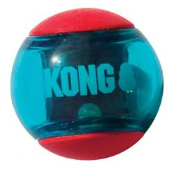 Kong Squeezz Action Red Ø 8 cm - 2 stk - large