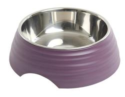 Buster Frosted Ripple Bowl, Dusty Purple, str. L