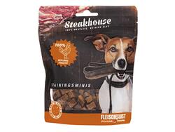 Små  kornfrie godbidder - Steakhouse Training Mini's lam, 100 g - 100% lam