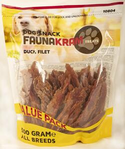 FAUNAKRAM Duck Filet -  XL 500 g