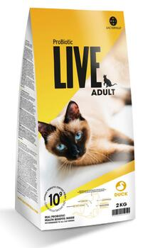Probiotic Live kattemad - Adult And - 2 kg