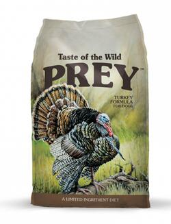 Taste of the wild - PREY Turkey Formula for Dogs 11,3 kg - Single Protein