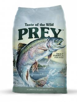 Taste of the wild - PREY  Trout Formula for Dogs 11,3 kg - Single Protein