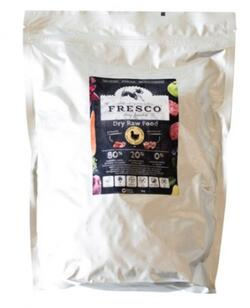 Fresco Dry Raw Food Complete Plus Chicken, 1 kg