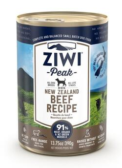 ZP Dog Cans Beef, 390 g