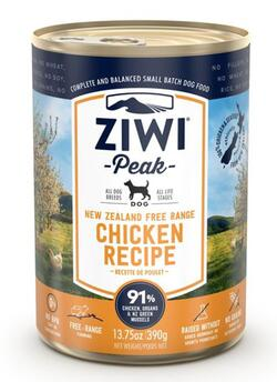 ZP Dog Cans Chicken, 390 g