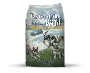 Puppy Pacific Stream  Salmon 13 kg - Taste of the Wild - M/GRATIS LEVERING OG GRATIS GODBIDDER