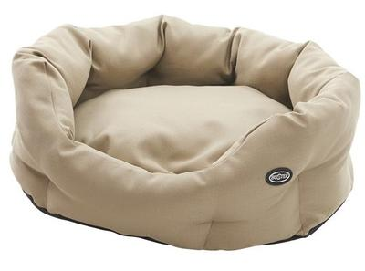 Buster Cocoon hundeseng - Chinchilla Beige