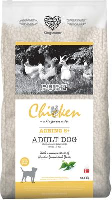 10,5 kg Kingsmoor Pure Dog Chicken age 8+ - Pure Senior Kingsmoor