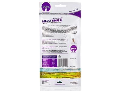 Pure Dental+ MeatSnax, 85 g - Antiplak