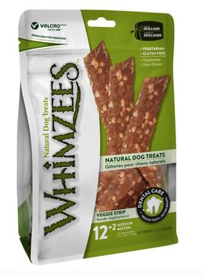 WHIMZEES Veggie Strip M / GLUTENFRI, pose m. 14 stk.