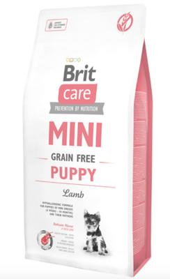 Brit Care Mini - til små racer - Grain Free Puppy Lamb, 2 kg