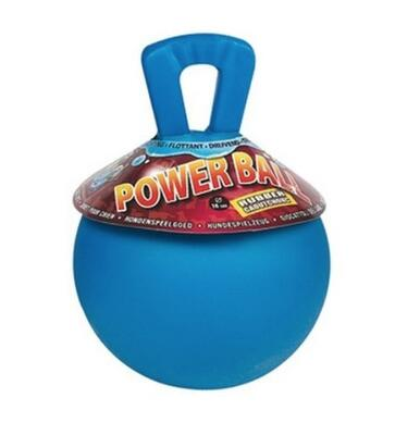Kraftig Rubber Power Ball - kan flyde