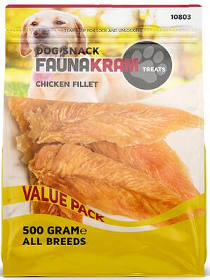 FAUNAKRAM Chicken Filet - 500 g