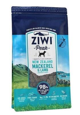 ZiwiPeak Dog - Air-dried Mackerel & Lamb 2,5 kg - DATOVARE MHT 011220