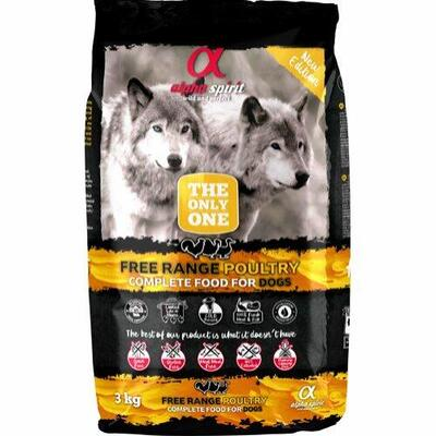 Alpha Free Range Poultry The Only One 3 kg – Hypo + GRATIS GLUTENFRIE GODBIDDER