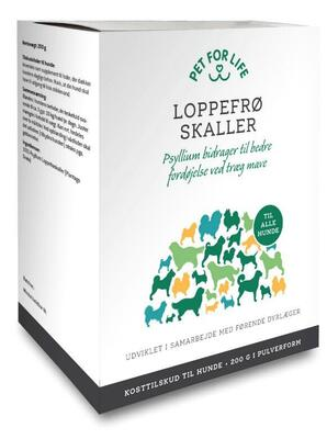 Pet For Life Psyllium Loppefrøskaller, 200 g