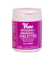 Image of   KW Vitaminpiller til hunde - 250 stk. vitamin/mineral tabletter