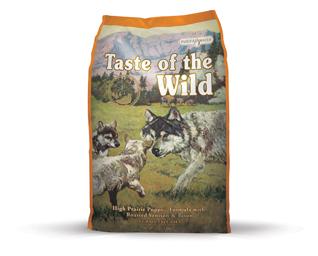 Puppy High Prairie bison 13 kg - Taste of the Wild - M/GRATIS LEVERING OG GRATIS GODBIDDER thumbnail
