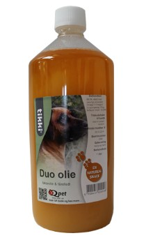 Image of   Tikki Duo olie - 1 ltr.- lakseolie og fårefedt TILBUD