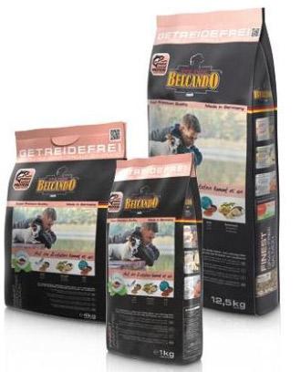 Image of   12,5 kg Finest Grain-Free Salmon Belcando - Singel Protein til små hunde