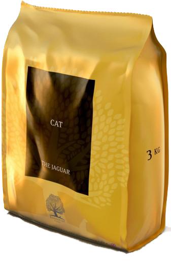 Image of   ESSENTIAL the Jaguar 3 kg - luksus kattemad til killinger og voksne katte