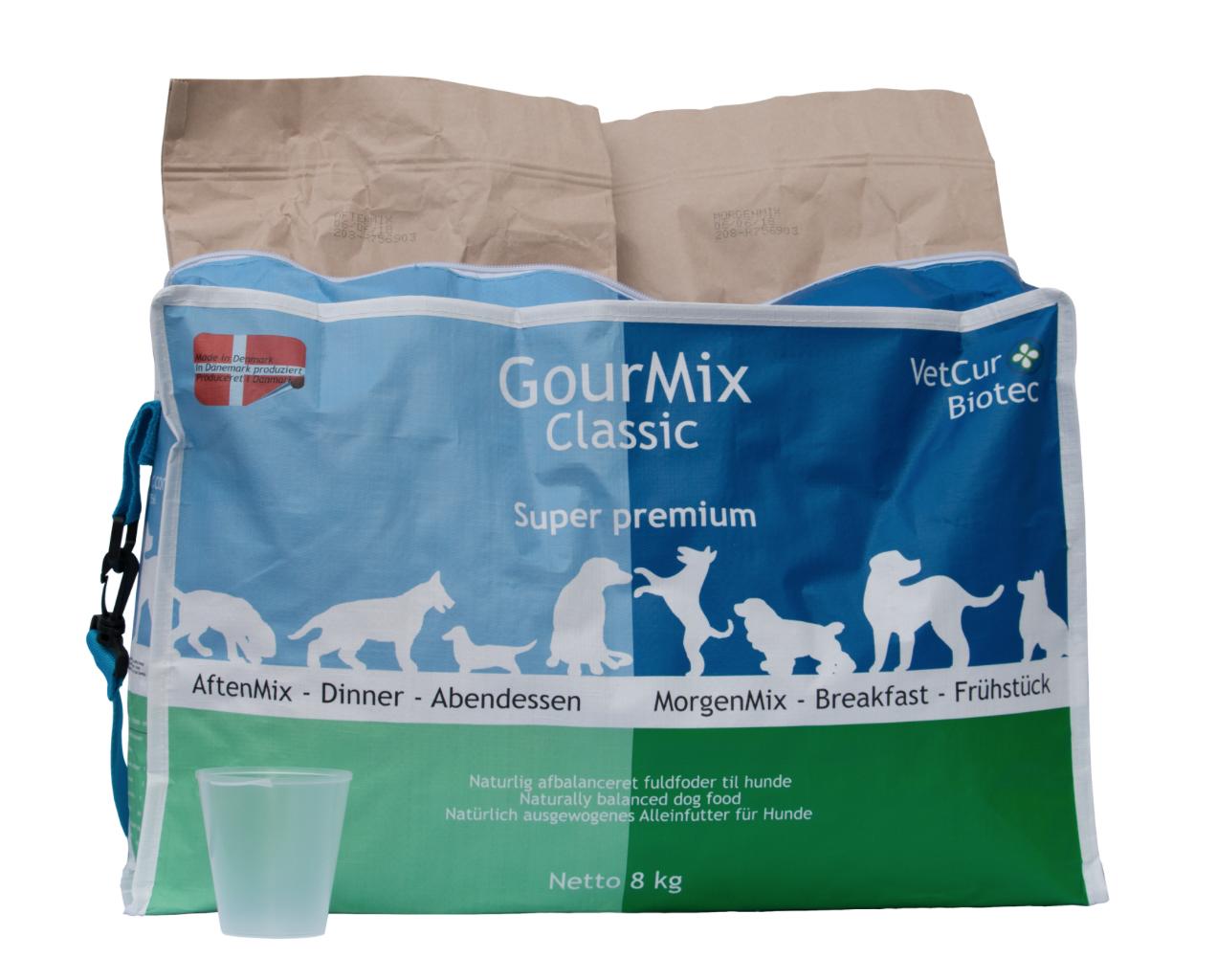GourMix Classic tørfoder fra VetCur - 8 kg - BEMÆRK FRAGTFRI LEVERING thumbnail