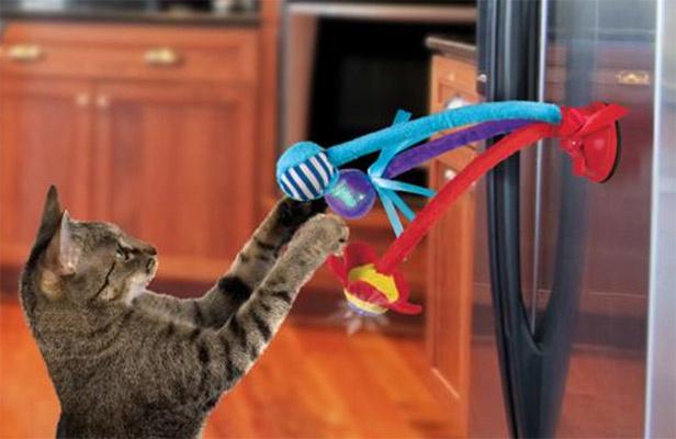 """Kong Cat Connets Bat """"N Spring - Til vindue eller køleskab thumbnail"""