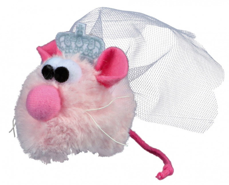 Image of   Cat Princess Mouse Bride i plys