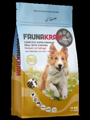 Image of   12 kg FAUNAKRAM Komplet Super Premium kornfri