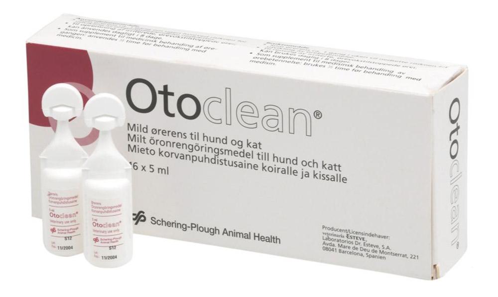 Image of   Otoclean 18 x 5 ml., ørerensemiddel