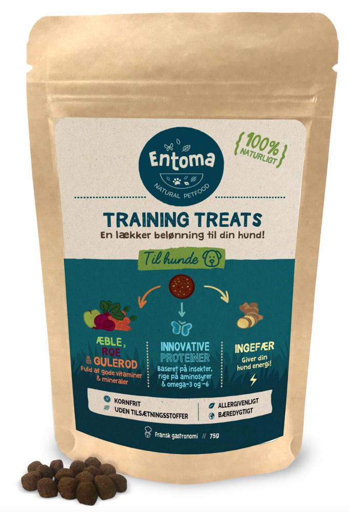 Entoma - Naturlige godbidder baseret på insekter, 75 g kornfri thumbnail