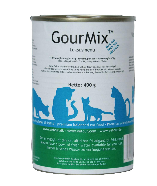 Image of   GourMix - Fisk, 400 g til katte