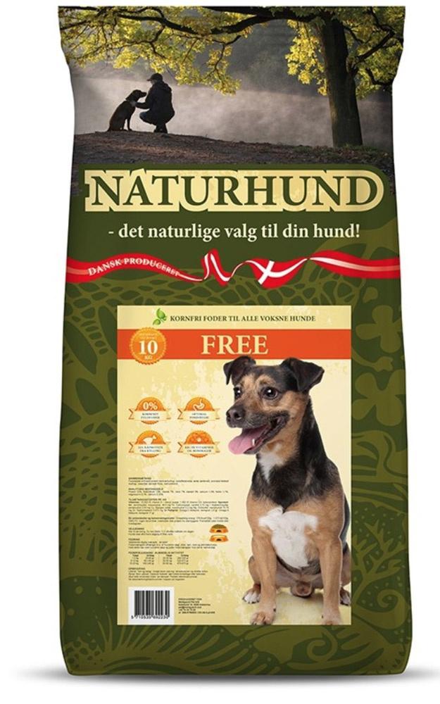 Image of   Naturhund Free Fuldfoder, 10 kg