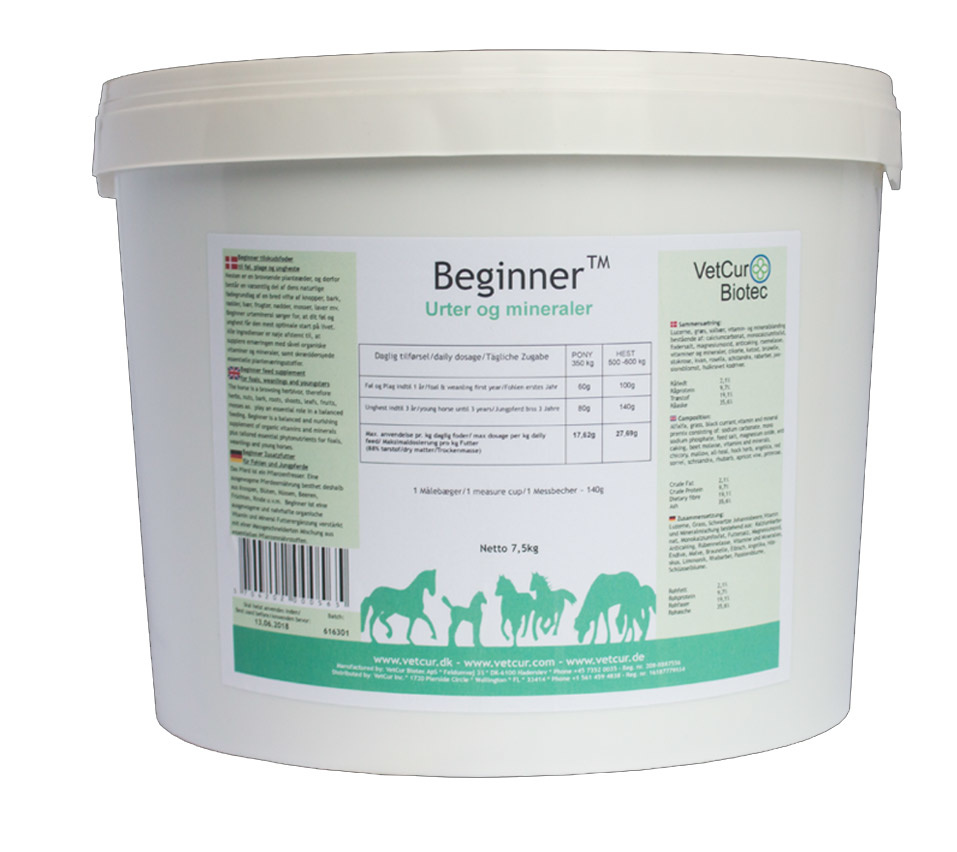 Image of   Beginner 7,5 kg - Hest