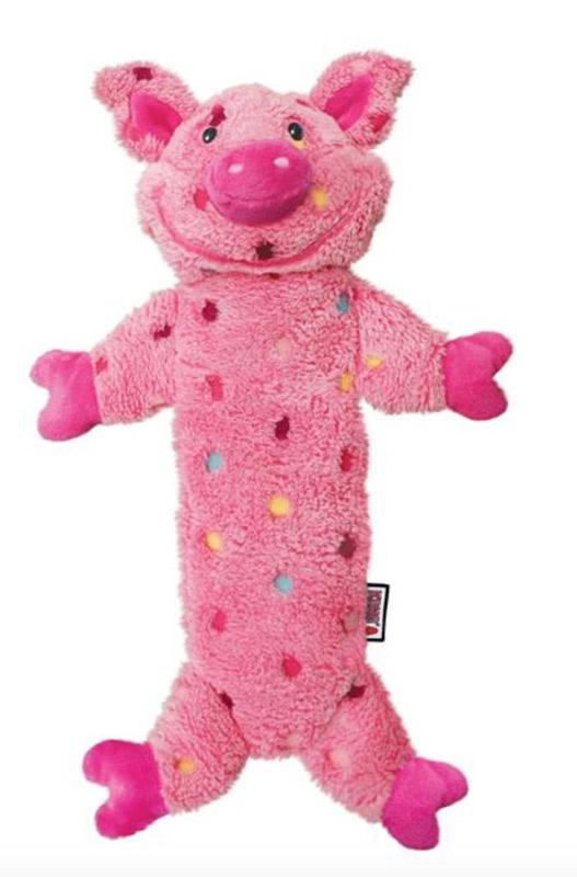 KONG Low Stuff Speckles Pig, str. L thumbnail