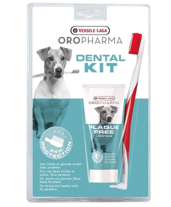 Orop Dental Care Kit - Tandbørste 2 i 1 + tandpasta thumbnail