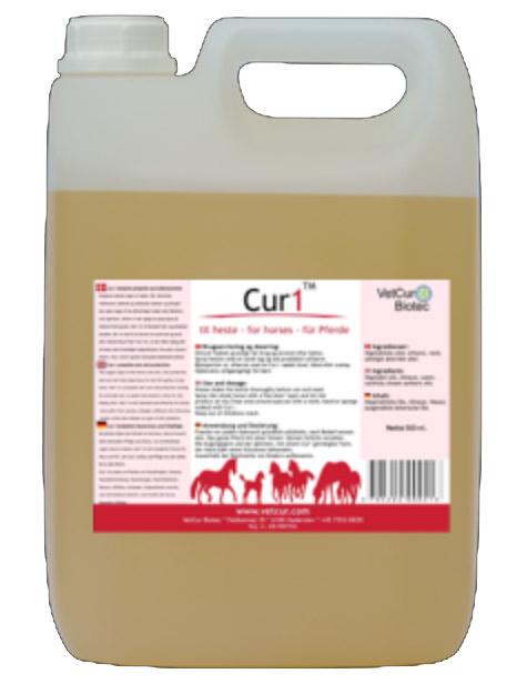 cur1 til hest, 4,5 l + 1 kg lækre hestegodbidder thumbnail
