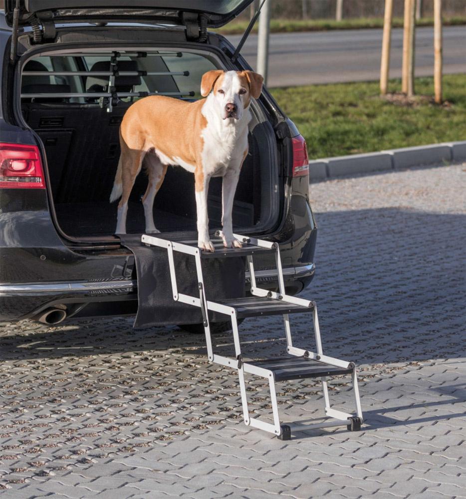 Image of   Petwalk Folding Steps - Foldbar stige til dit kæledyr