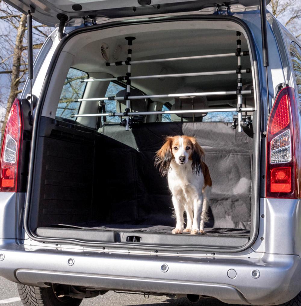 Image of   Car Dog Grid - Hundegitter til høje biler, til montering på nakkestøtter