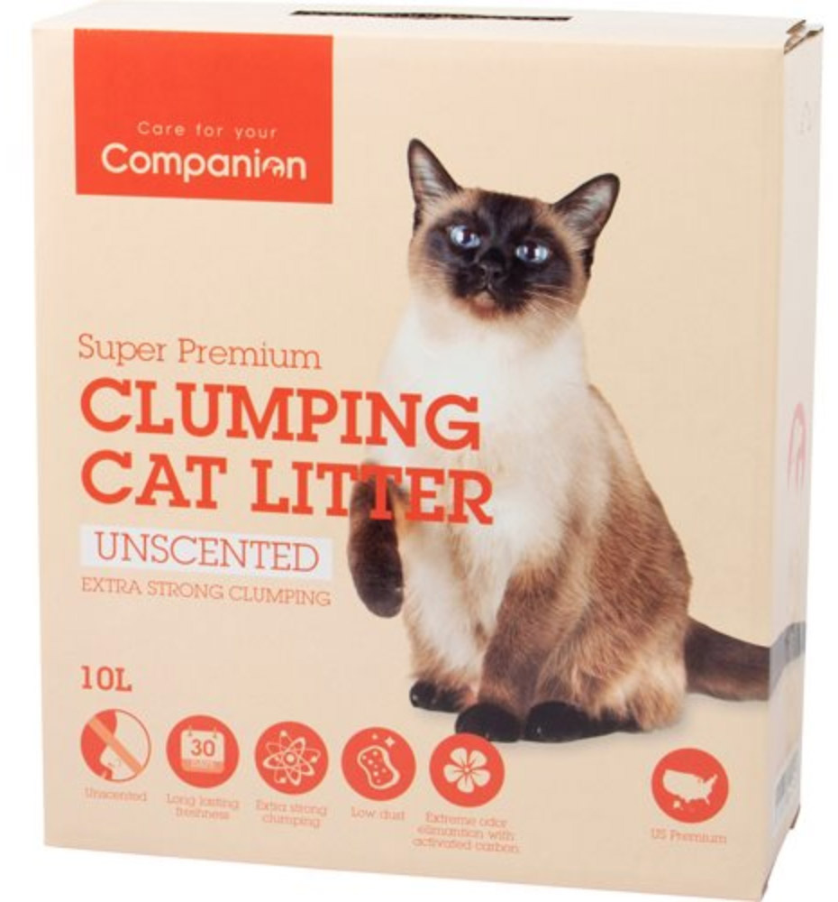 Companion Extra strong Unscented - Ekstra klumpende, 10 L thumbnail