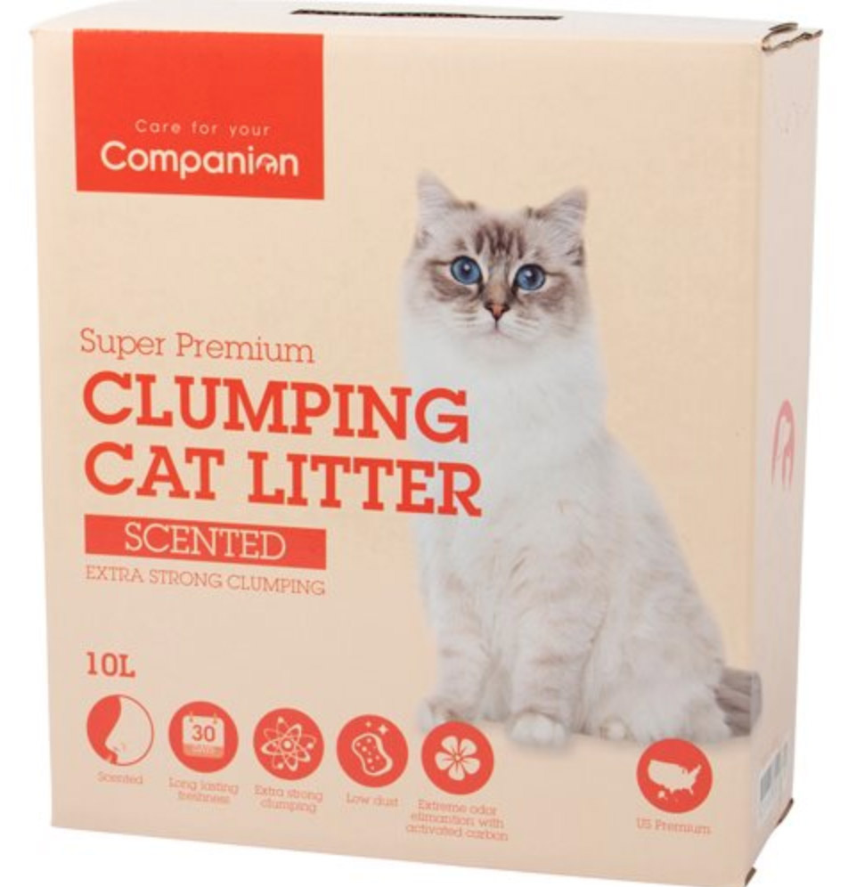 Companion Extra Strong Scented m/babypudder duft, ekstra klumpende - 10 L thumbnail